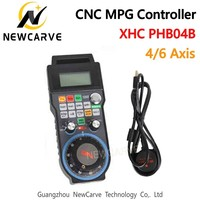 XHC CNC 4 6 Axis Wireless Manual Pulse Generator MGP Controller For CNC System Machine USB Port Support Programmable NEWCARVE