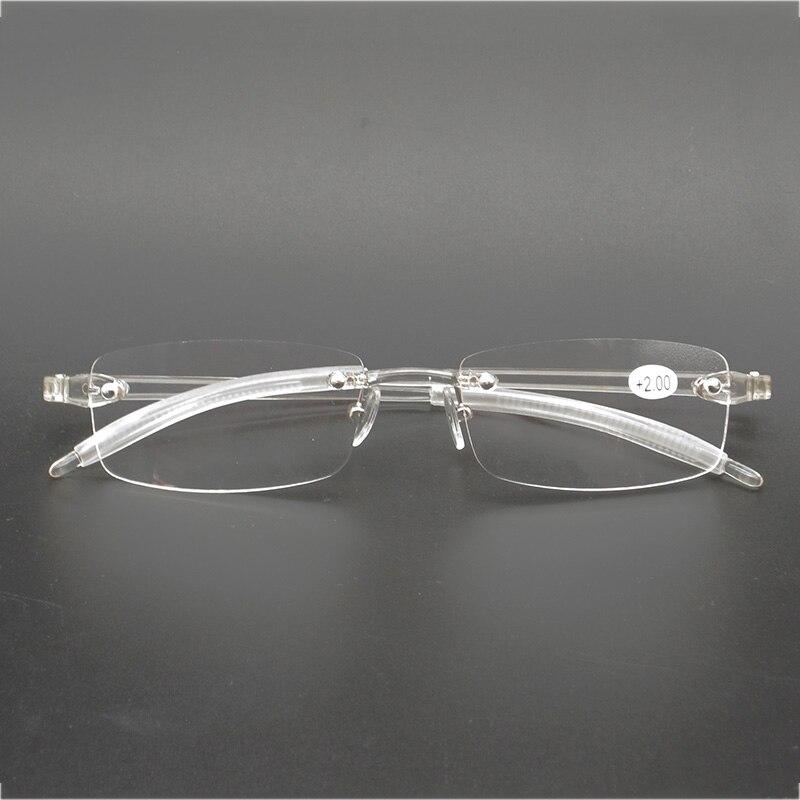 321d41c7f4 Cheap Coyee gafas de lectura transparentes Unisex lector sin montura TR90  ultraligero + 0,5