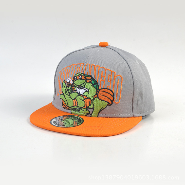 Children   Baseball   Hat Teenage Mutant Ninja Turtles Peaked   Cap   Baby Embroidery Hip-hop Hats New Product Street Dance   Cap