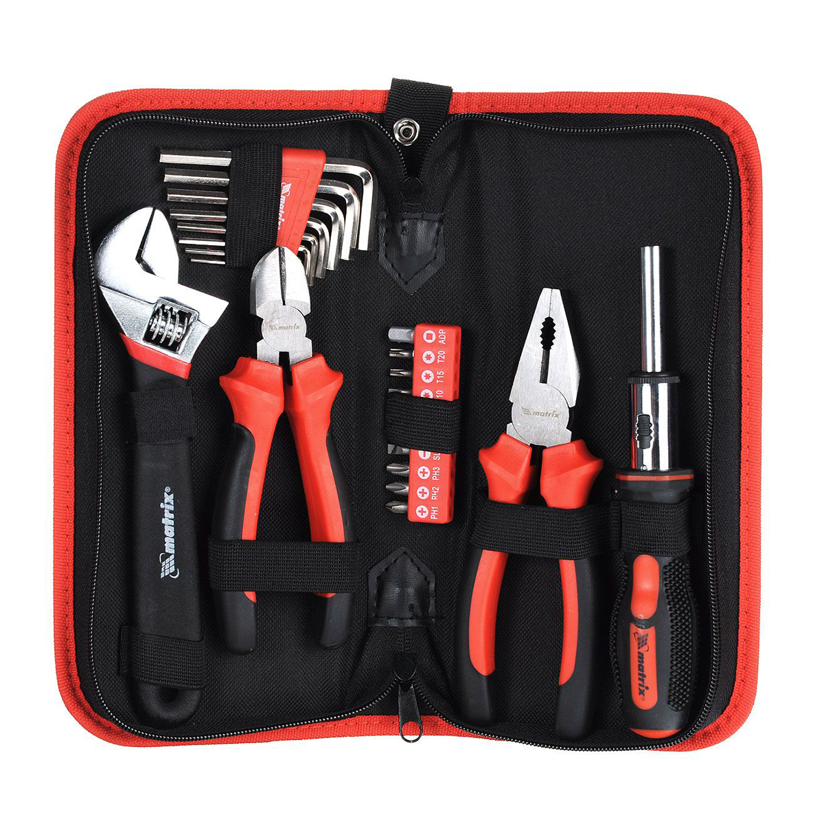 Hand tool set MATRIX 13561 цена и фото