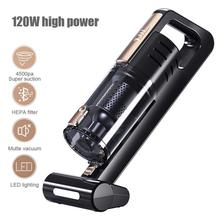 Power 120W Car Vacuum Cleaner High With Stronger Suction Handheld Style Whirlwind Design Cord for home