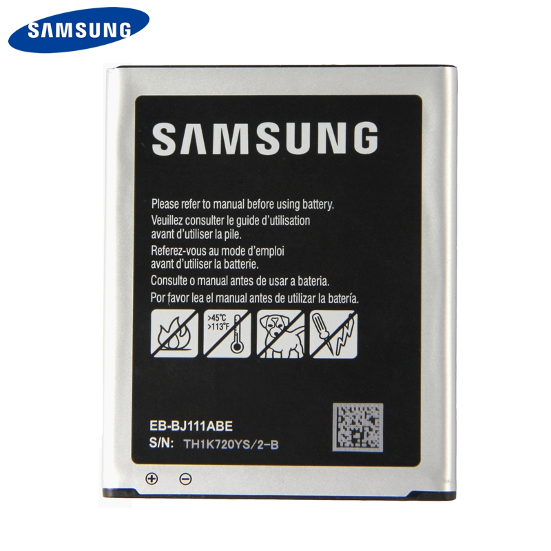 Original <font><b>Samsung</b></font> <font><b>Battery</b></font> EB-BJ111ABE For <font><b>Samsung</b></font> Galaxy <font><b>J1</b></font> J <font><b>Ace</b></font> 4G version J110 SM-J110F J110H J110F J110FM 1800mAh image