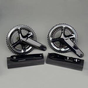 Image 2 - Bicycle Crank Chain wheel R8000 FC9100 Road Bike Power Meter Crankset Chain Wheel 170mm 172.5mm 50 34T 53 39T 52 36T
