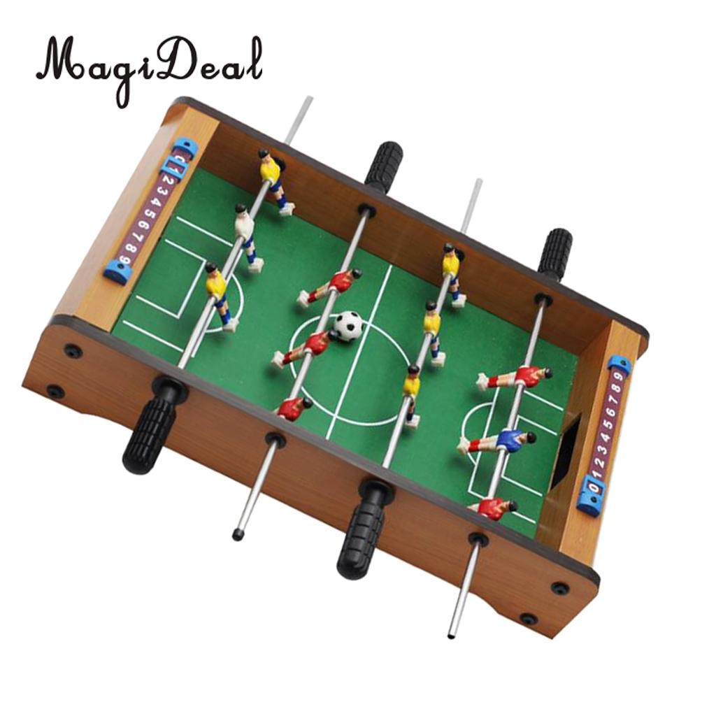 Entertainment Portable Table Top Football Game Desk Soccer Metal Foosball Children Toy For Family Fun Table Sports Leisure Recreation