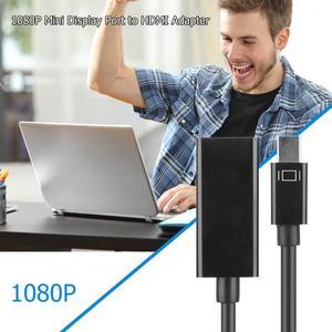 Image 3 - Аудио видео кабели для HP/DELL ноутбука ПК папа к женскому Кабель DP HDMI Displayport к 1080P HDMI адаптер конвертер