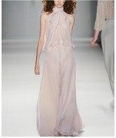 См. оранжевый новый Ol Женская юбка костюм Модное шифоновое в горошек женские летние топы 2018 SO3130