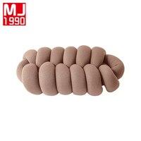 New Handmade Weaving Pillow European Style Cushion Sofa Car Cushion Home Decoration Simple Pillow 1PCS