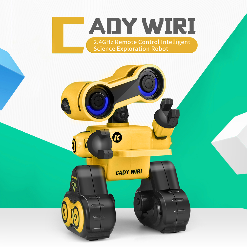 JJR/C R13 CADY WIRI Intelligente RC Robot D'exploration Scientifique Programmable Musique De Danse RC Jouets pour les Enfants Cadeaux