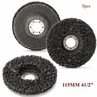 115mm Abrasive Disc Rust And Paint Removal Polycarbide Abrasive Stripping Disc Wheel