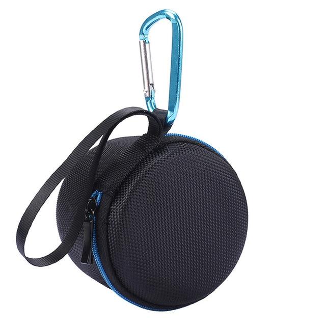 EBSC101 Caso Bolsa de Transporte Com Zíper Caso Saco De Armazenamento de Viagem Portátil Para Anker Sonoridade Mini Speaker Bluetooth Bolsa Zip Lock Co