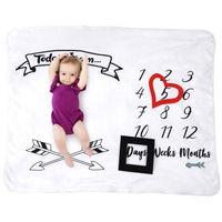 Детское большое одеяло на день рождения, мягкое банное полотенце для новорожденных, 100% Флисовое одеяло высокого качества, реквизит для фото...
