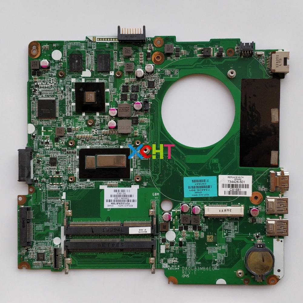 734426 501 734426 001 w HD8670M/2GB Graphics w i5 4200U CPU for HP Pavilion 14 n Series Laptop Motherboard Mainboard Tested-in Laptop Motherboard from Computer & Office