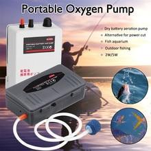 Новейший 2 Вт/5 Вт портативный мини-аквариумный воздушный насос для аквариума маленький воздушный кислородный насос с воздушной каменной трубкой для рыбалки на открытом воздухе вспомогательные инструменты