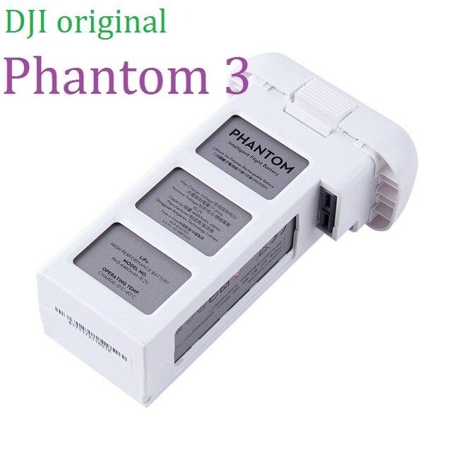 100% Originele Batterij Voor DJI Phantom 3 Serie Pro/Advance/SE/3A Intelligente Vlucht Batterijen 4480 mah 15.2 v LiPo 4 s (Gebruikt)-in Dronebatterijen van Consumentenelektronica op  Groep 1