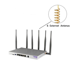 Image 4 - CAT6 router Gigabit dual band LTE 4G with SIM card slot openwrt 802.11ac 1200Mbps 5GHz wireless access point WiFi router