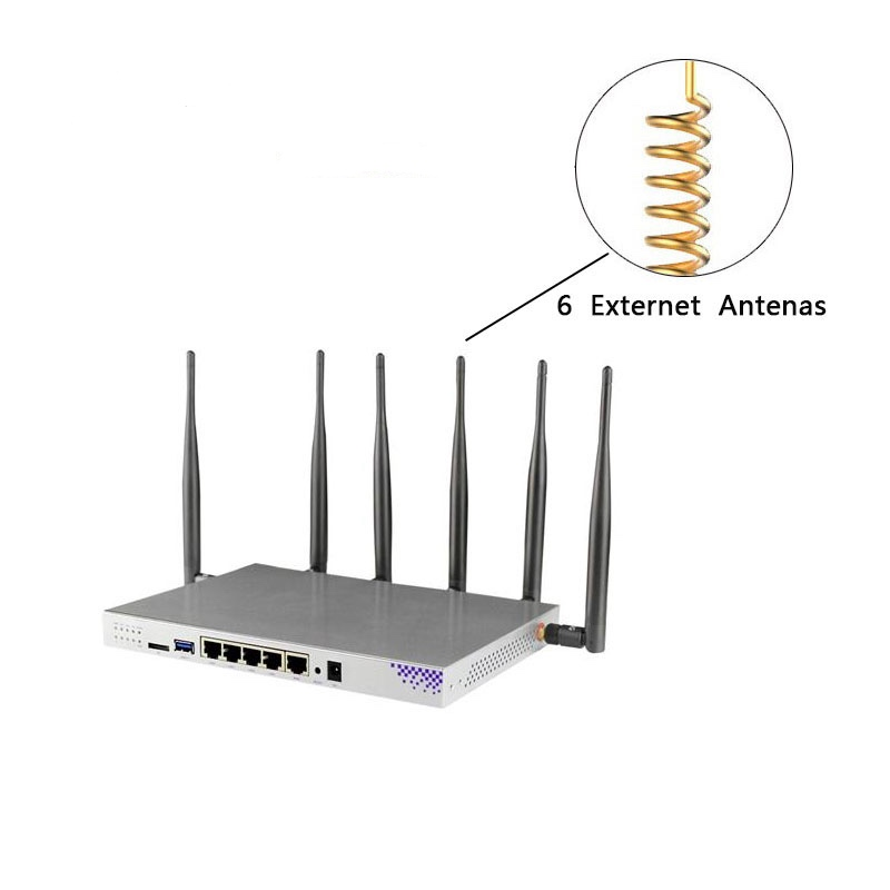 Image 4 - WG3526 Router gigabit dual band with sim card slot openwrt 802.11ac 1200Mbps 5ghz wifi access point network wifi router expander-in Wireless Routers from Computer & Office