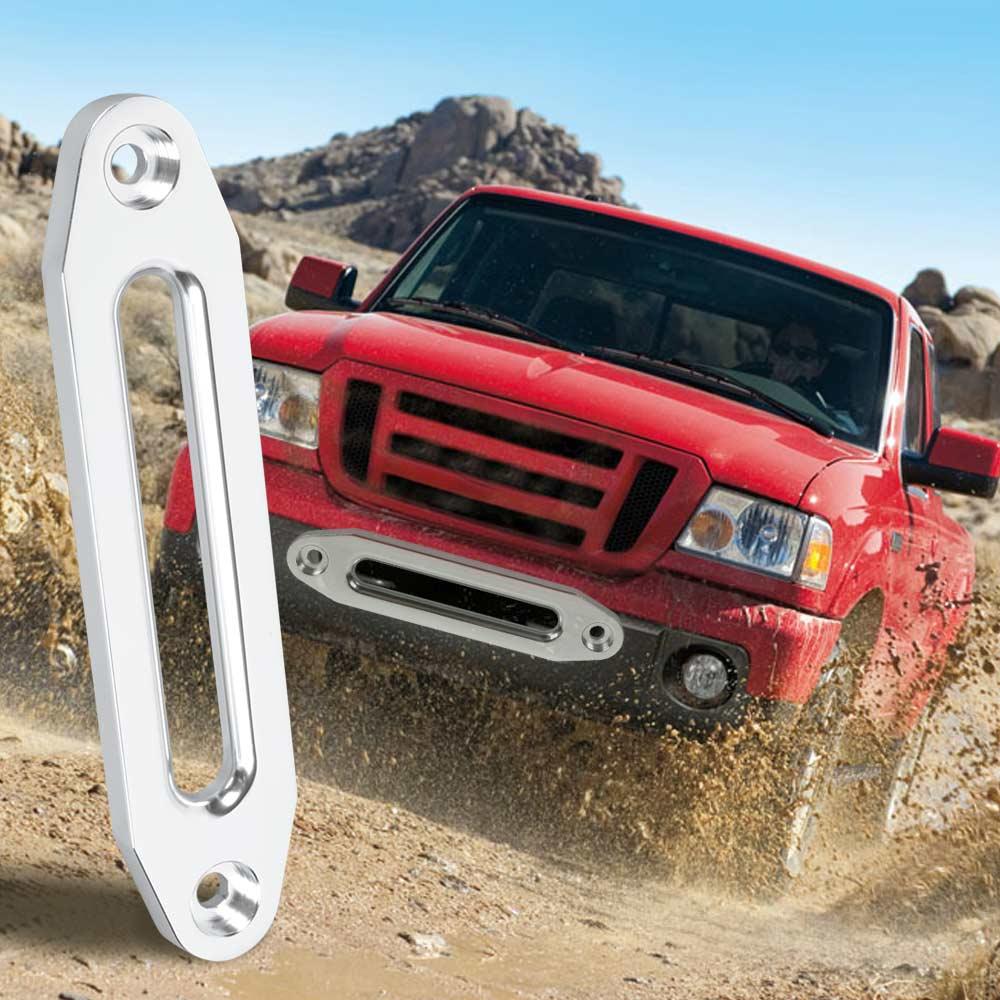 Original Zeepin 12000lbs Winch Rope 10mm 12mm Guide Hawse Aluminum Fairlead For Off-road 4WD Automotive Accessories