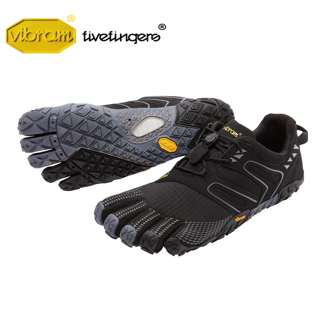 Vibram Fivefingers V-TRAIL men's Sneaker Cross-country Non-slip Running Outdoor Five fingers Parkour Adventure sports Shoes