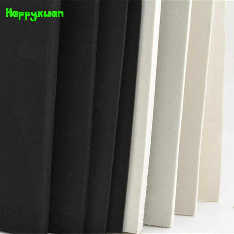 Happyxuan 2 шт/комплект 100*35 см 10 мм пены eva Простыни Косплэй 45 градусов белый черный губка Бумага DIY Craft материалы