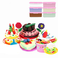 150ML Large Volume Paper Clay Soft Colorful Drawing Slimes Creative Making Kit Kid Manual Training Childrens Toy