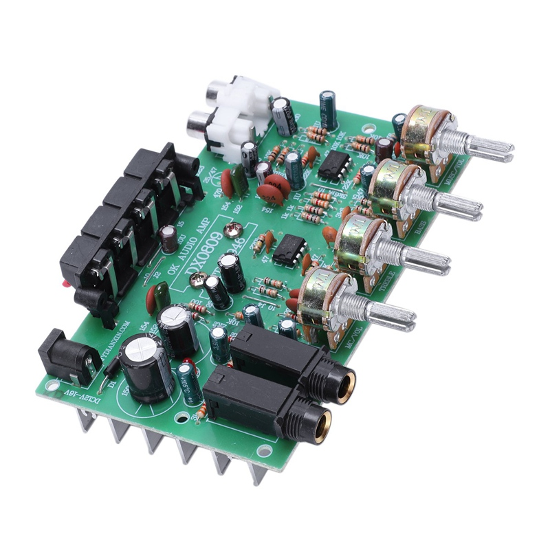 Tda8944 Bordo 2.1 Amplificador de Áudio Dc12V 30X2 W Placa Tom Amplificador de Som Com Microfone|Chips para amplificador operacional| |  - title=