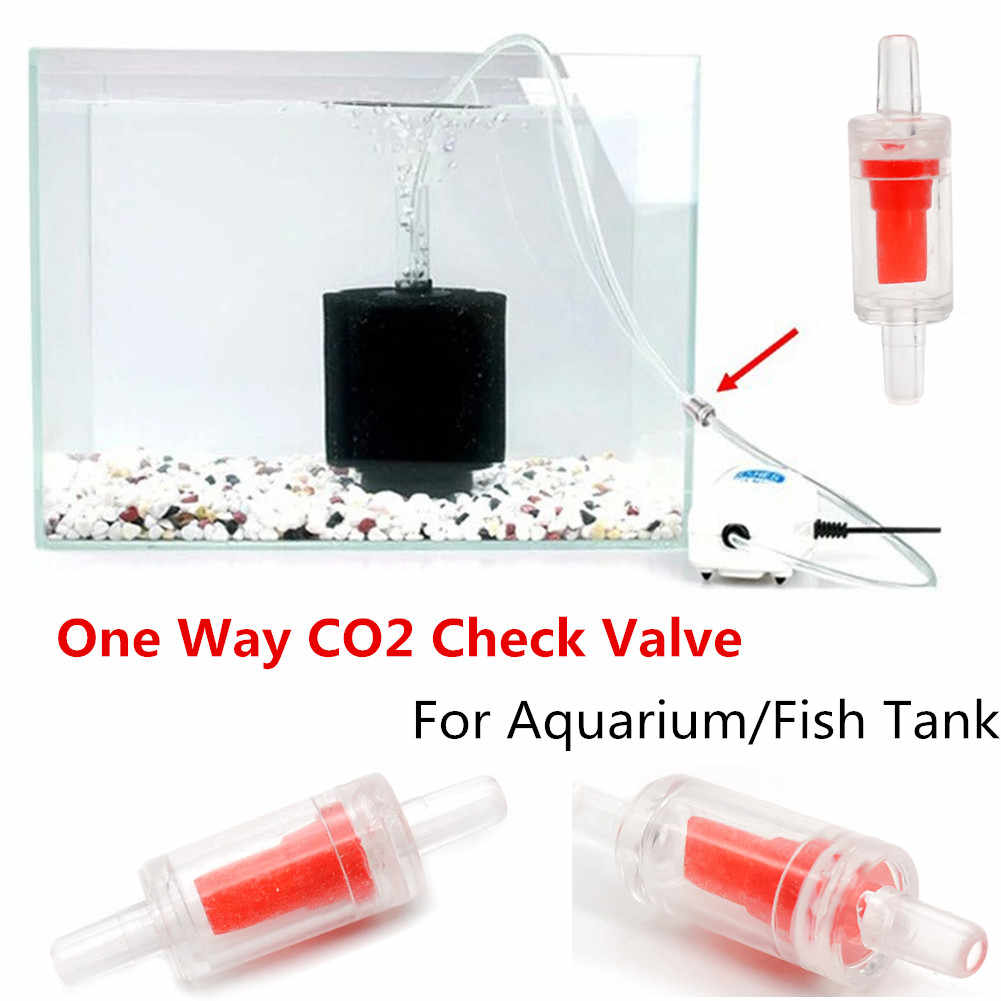 1PCS One way Check Valves For Aquarium Air Pump Airline Co2 System Diffuser 45mm x 15mm x4mm