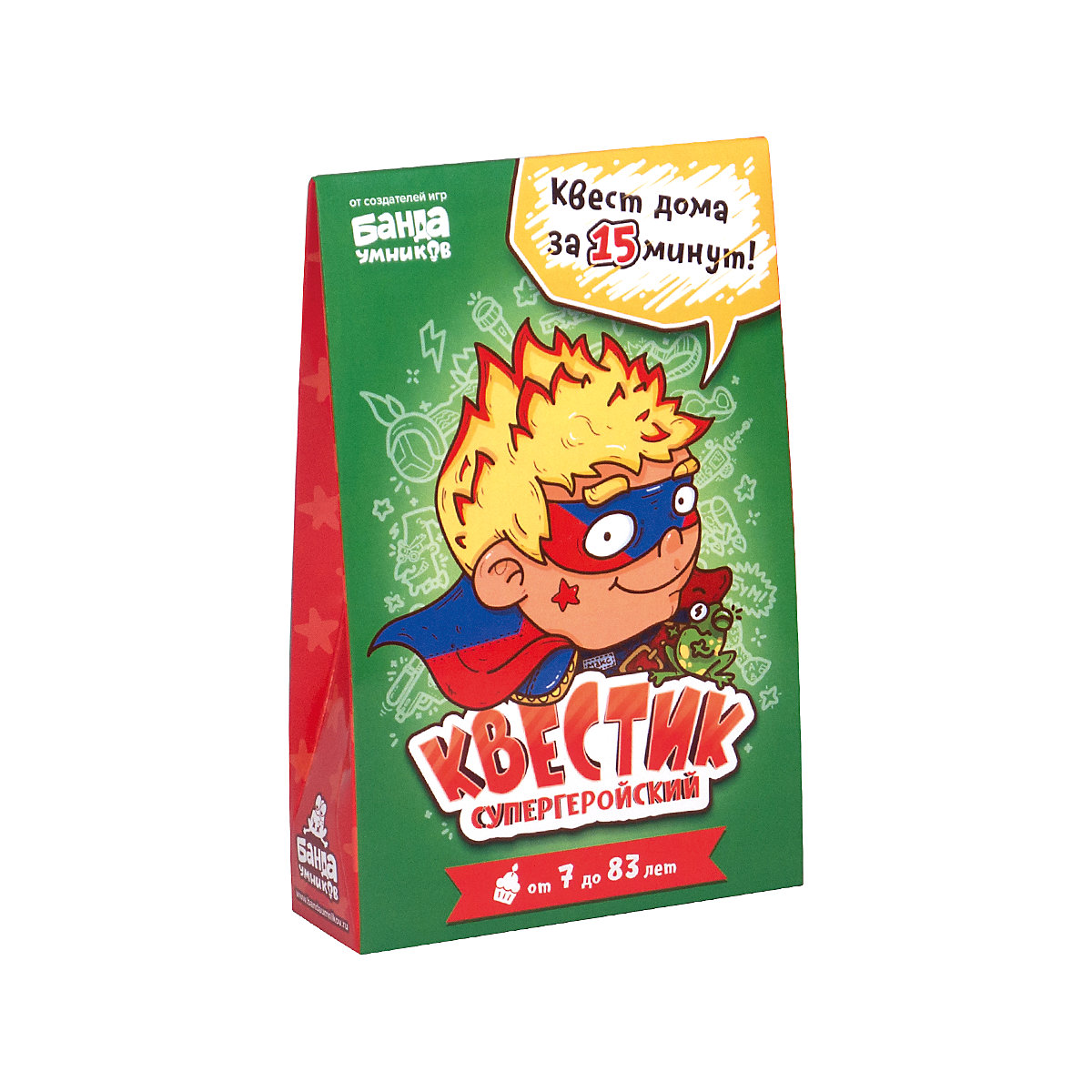 Banda umnikov Card Games 8398091 educational toys board game toy boys girls children training cards
