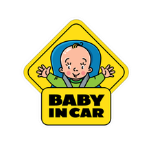 Baby on Board PVC Car Sticker Bomb Funny Personalized Automotive Window Warning