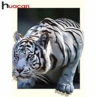 Huacan 5d diy diamant malerei tiger Diamant Mosaik Tier Bild Von Strass Diamant Stickerei Volle Bohrer Platz Dekor Hause
