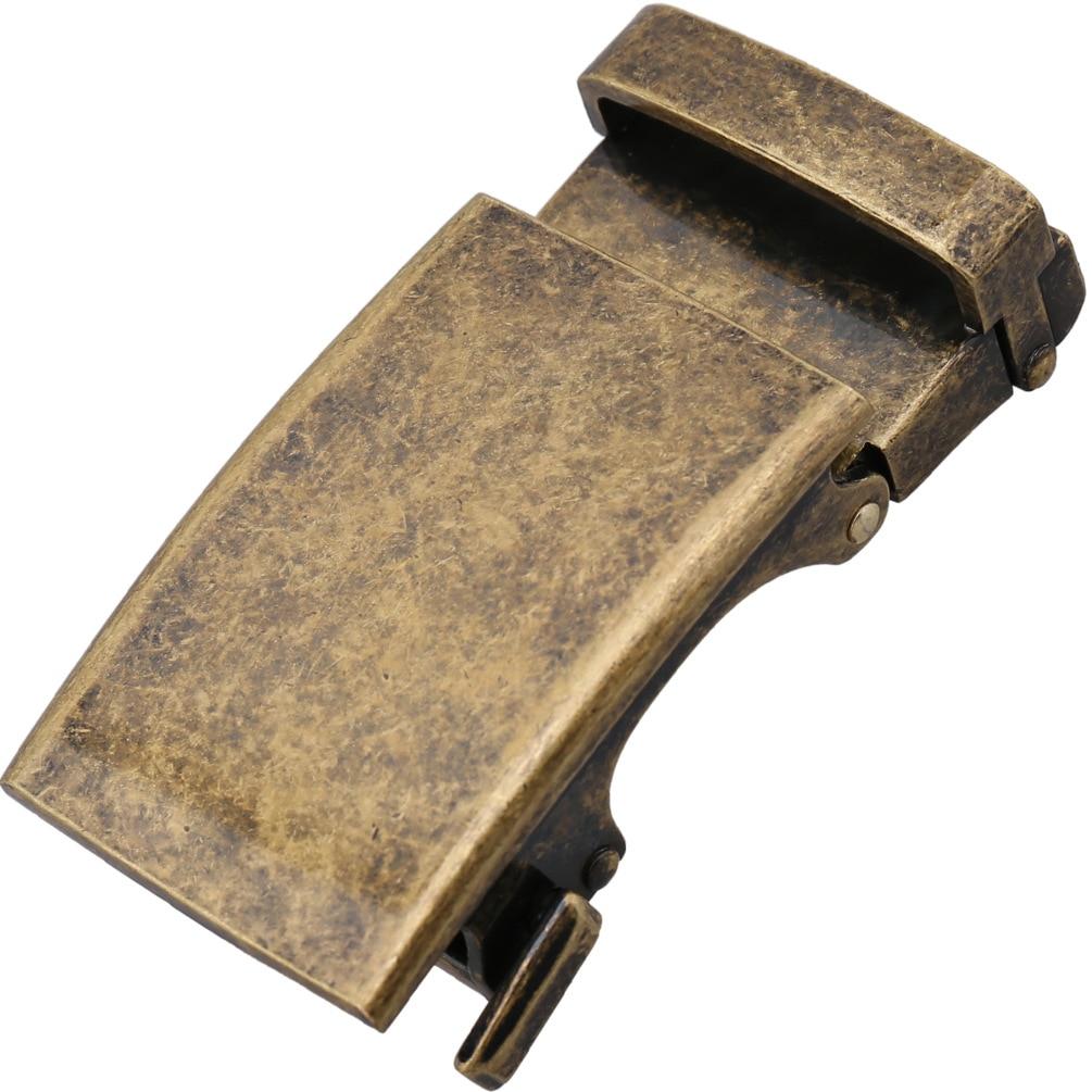 Retro Bronze Belt Buckles For Men Automatic Head For 30-31mm Waistband DIY Leather Craft Accessory Boucle De Ceinture CE33-21600