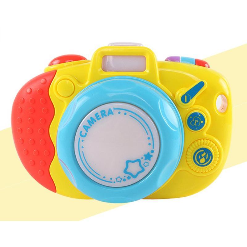 Onverdroten Abs Simulatie Camera Educatief Interesse Teelt Leuke Muziek Kleuterschool Kids Geschenken Shine Speelgoed Voor Kinderen Met Touw