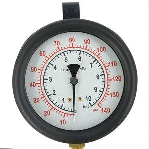 Image 4 - TU 443 Car Trucks Manometer Fuel Injection Pressure Tester Gauge Kit Fuel Flow 0 140 psi For Bosch CIS GMTBI System