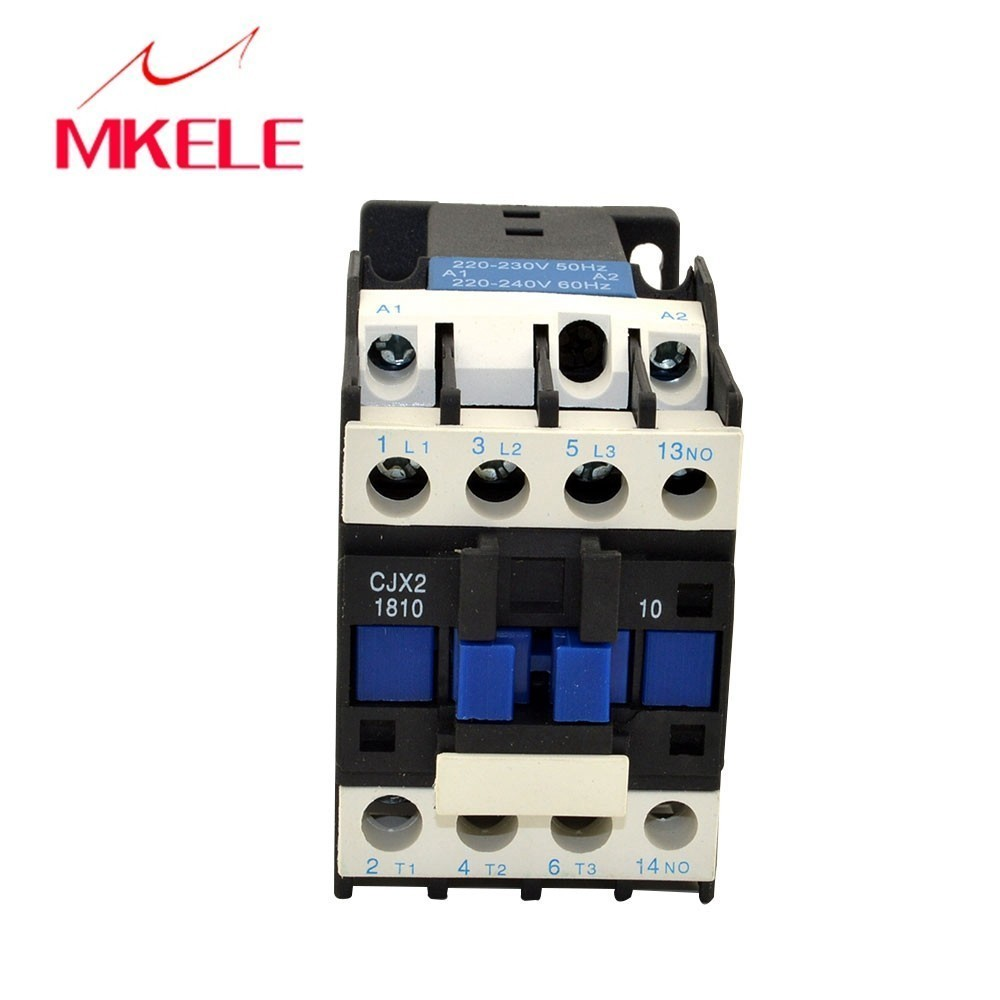 Cjx2 1810 3p No Contactor 220v Coil Voltage 3 Phase