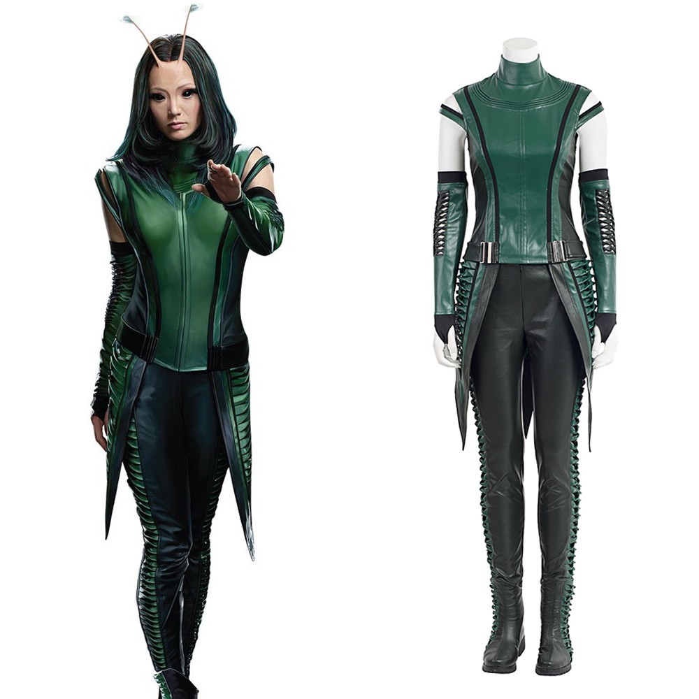 2017 Guardians of the Galaxy Vol 2 Mantis Cosplay Costume Halloween Outfit