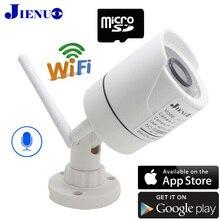 1080 p câmeras ip wi fi à prova dwaterproof água de vigilância em casa vídeo segurança bala visão noturna infravermelha câmera cctv sem fio 2mp