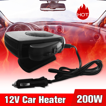 12V 200W Car Heater Electric Heater Glass Defrost Defog Heating Machine for RV, Motorhome Trailer, Trucks, Boats