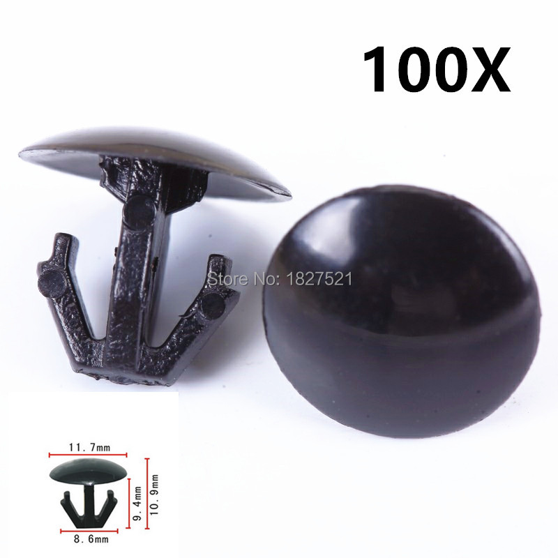 10 Pieces Hood Trunk Moulding Retainer Clip For Honda Acura OEM# 91518-SM4-003
