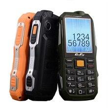 2G Gofly resistente al aire libre superior del teléfono móvil sonido fuerte linterna FM Larga modo de reposo ruso clave de banco de potencia Bluetooth Speed Dial