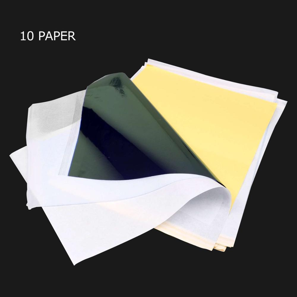Tattoo Stencil Transfer Carbon Paper Top 10 Pcs A 4 Size Tattoo Supply WS011*10
