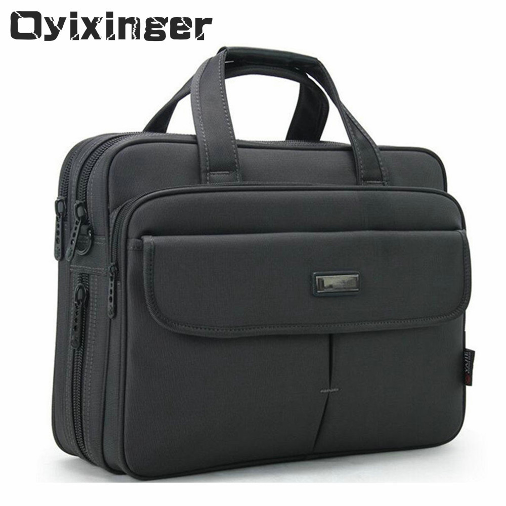 Men Briefcase Business Laptops Large Capacity 15.6 Inch Computer Bags Male Single Shoulder Crossbody Bag Mens Waterproof Handbag