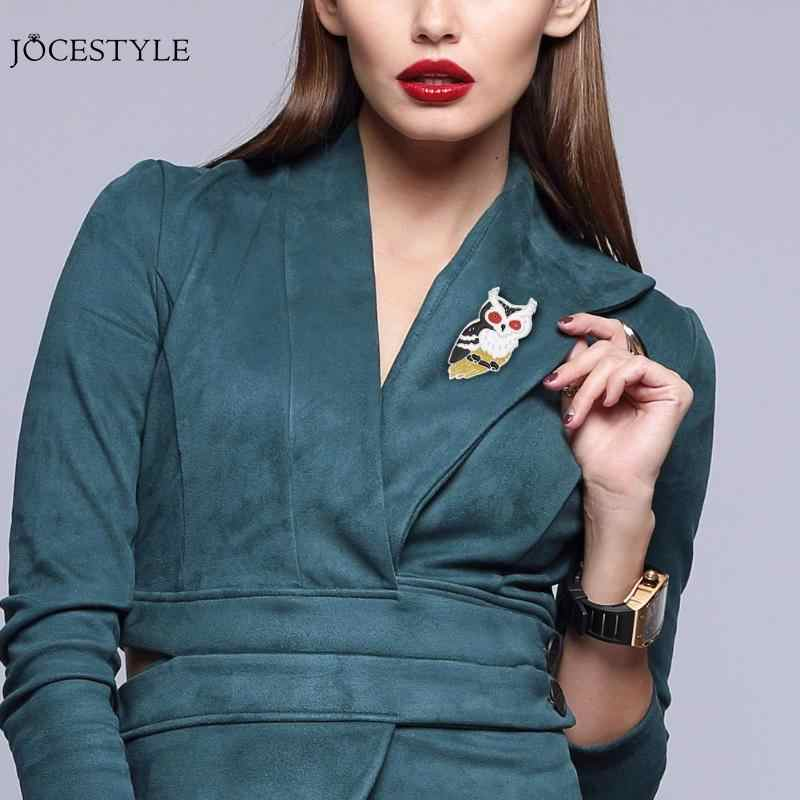 Perhiasan Kostum Tas Jean Sweater Hat Aksesoris Lucu Kreatif Wanita Kartun Hewan Kostum Bros Burung Domba Pin Perhiasan