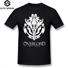 Overlord T Shirt Anime Guild Emblem Ainz Ooal Gown T-Shirt Graphic Short-Sleeve Tee Man Oversize Tshirt