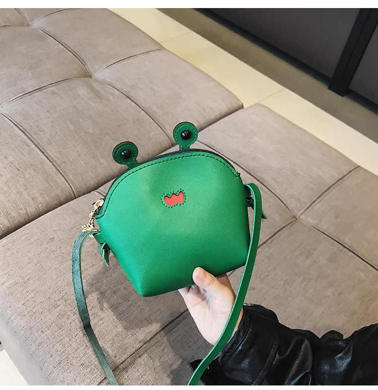 2019 Menina Dos Desenhos Animados Caranguejo Caixa Bolsa Crianças Bolsa Carteira Pequena Moeda Bolsa Da Moeda Bolsa Da Mudança Bonito Do Bebê Do Miúdo do Dinheiro Mini saco
