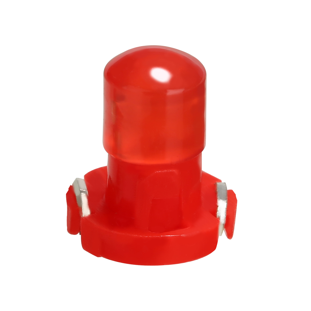 Mayitr 10pcs Car Red <font><b>T3</b></font> LED Cluster Instrument Light <font><b>12V</b></font> Super Bright Dash Climate Control Base Signal Bulb Lamp image
