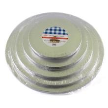 Удобный анти-обжигающий алюминиевый фольгированный лоток для торта, кухонный инструмент для выпечки, передвижной ресторанный демонстрационный стол для торта