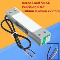50Kg Druck Sensor Parallel Stab-wägezelle Sensor Gewichtung Skala Sensor mit Abschirmung Kabel 0,02 Wägezelle Sensor