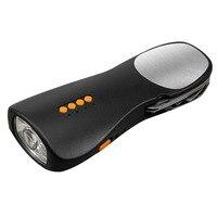 Открытый аварийный ручной коленчатого фонарик многофункциональный мобильный телефон зарядки мобильных устройств фонарик