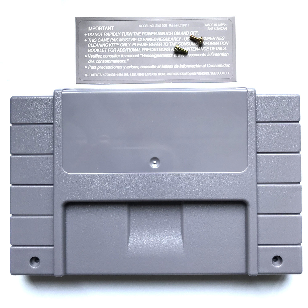 20pcs Ntsc Replacement Shell Case With Back Sticker And Scrwes