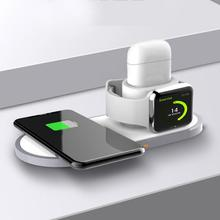 3 In 1 Wireless Charging Base Applicable To Appl Mobile Phone Watch Headset Wireless Charger Multi-function Charging Base