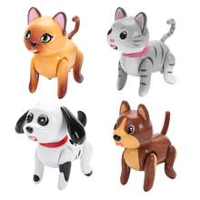 Cute Induction Puppy Cat Nurse Suckle Toys Interactive Baby Pet Toy Inductively Suckling Electric Pet Children Educational Toy(China)